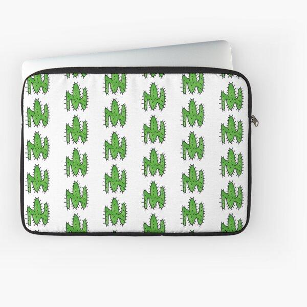 Green cactus Laptop Sleeve