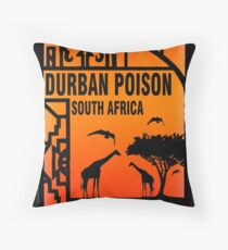 Weed durban Poison South africa Gifts Throw Pillow