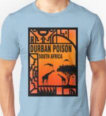 Unkraut Durban Gift Südafrika Geschenke Slim Fit T-Shirt