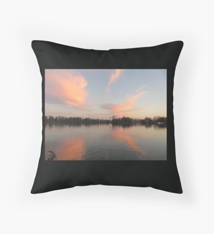 Anchor Cannon vs. Cloud Monster Throw Pillow