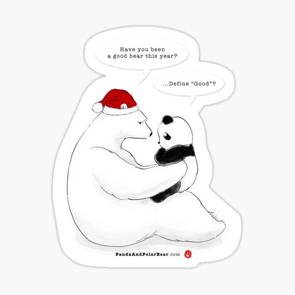 A Good Bear Sticker