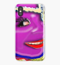 MAYBE WEST aka THE COLOUR PURPLE iPhone Case