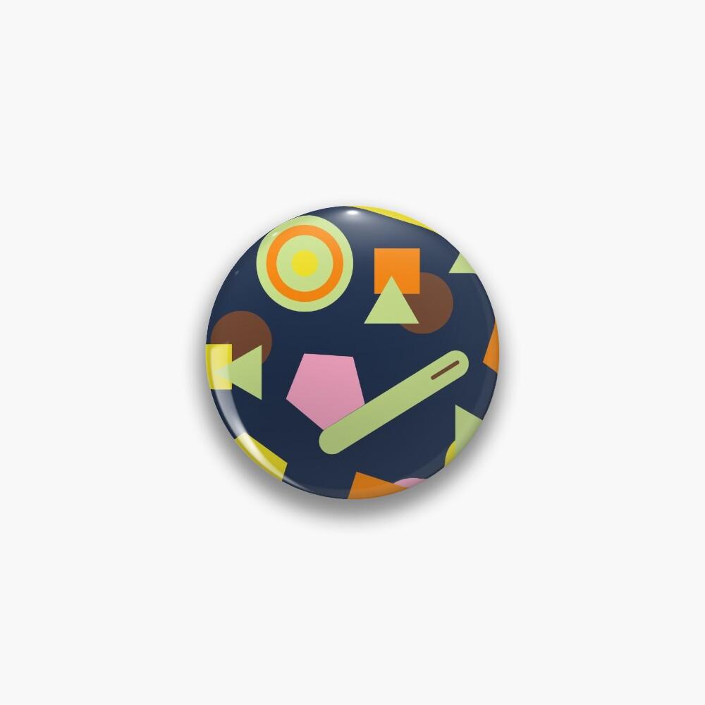 Geometric Sweets Pin