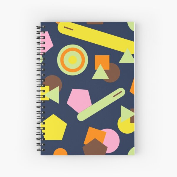 Geometric Sweets Spiral Notebook