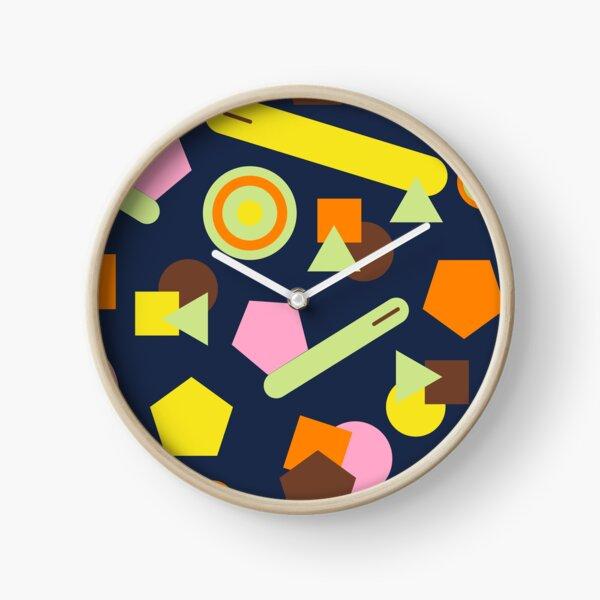 Geometric Sweets Clock