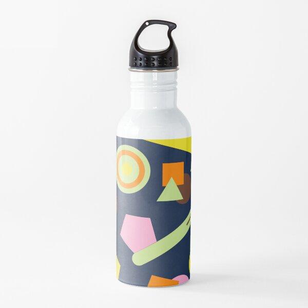 Geometric Sweets Water Bottle