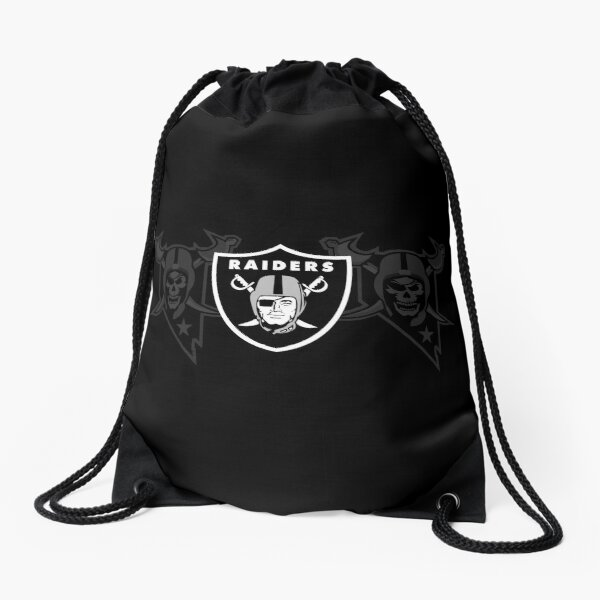 Las Vegas Raiders - Skull Drawstring Bag
