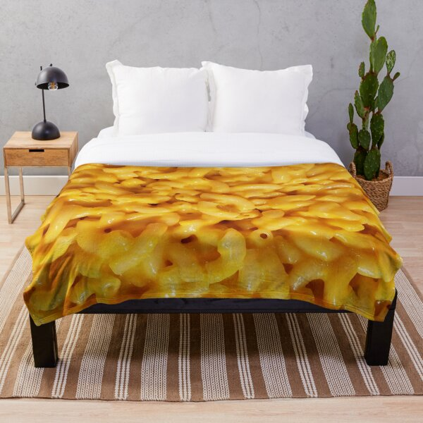 Mac n' Cheesey Throw Blanket
