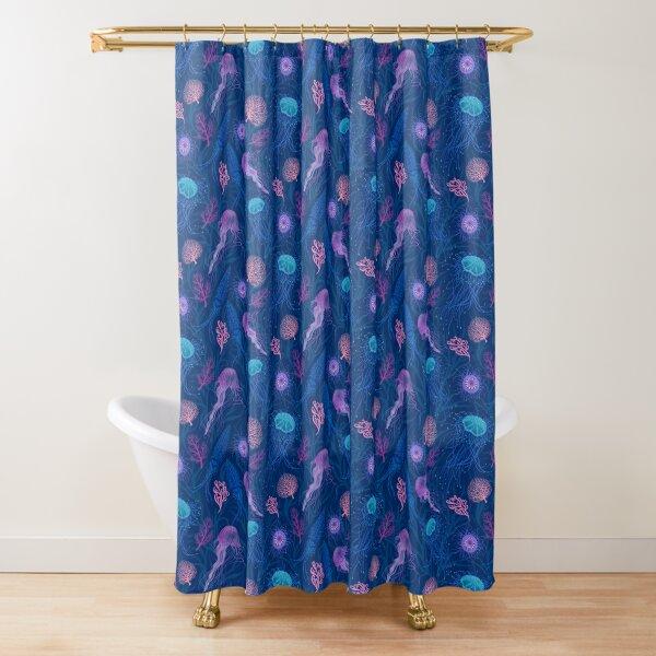 Jellyfish parade  Shower Curtain