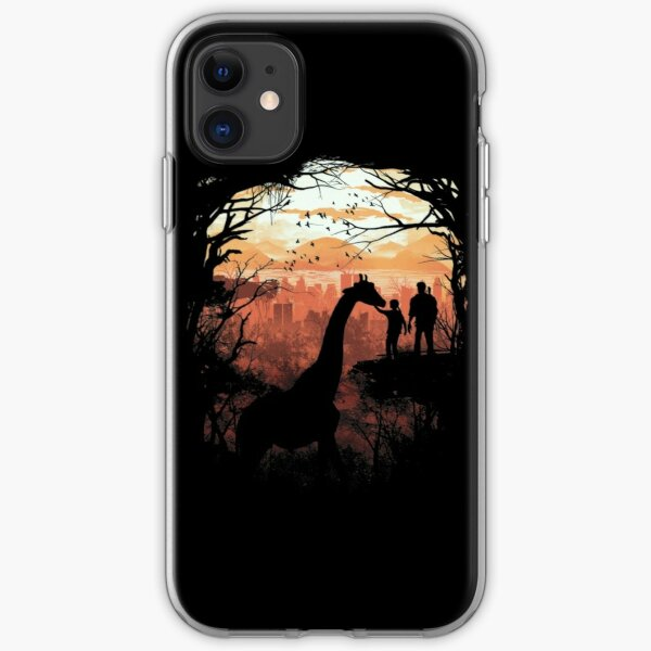 the last of us giraffe iPhone Soft Case