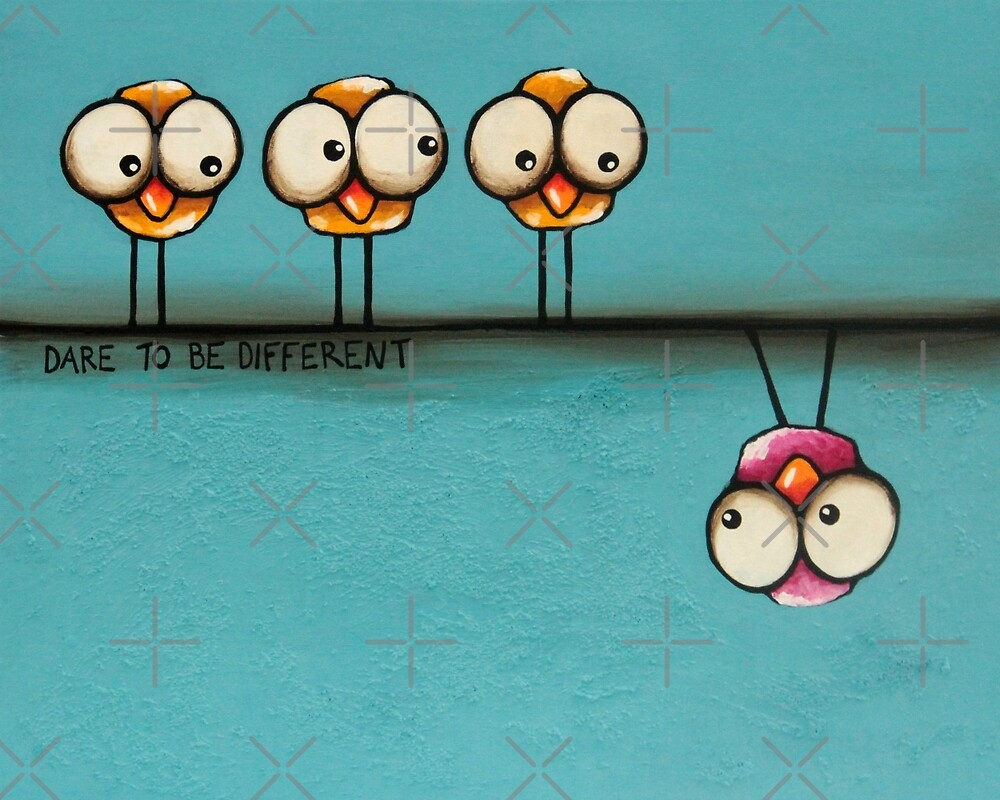 Dare to be different by StressieCat