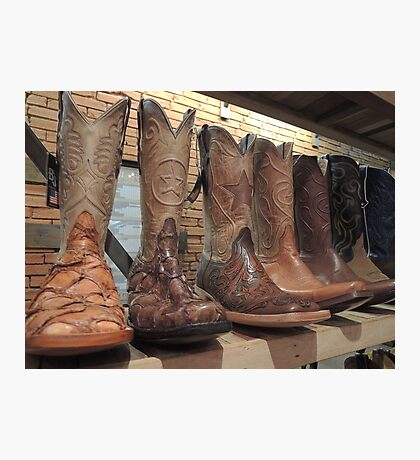 Stompin' in Texas  Photographic Print