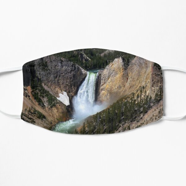 The Grandeur of Lower Yellowstone Falls  Mask