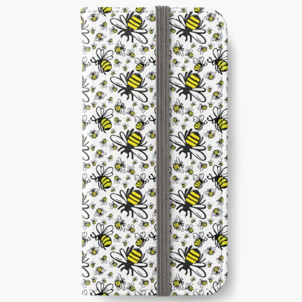 Buzzy Bee and his little ones  iPhone Wallet
