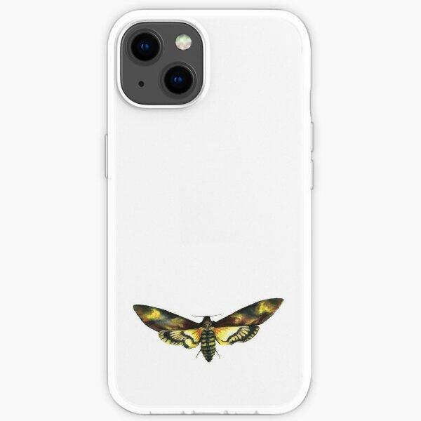 Deaths-Head Hawk Moth iPhone Soft Case