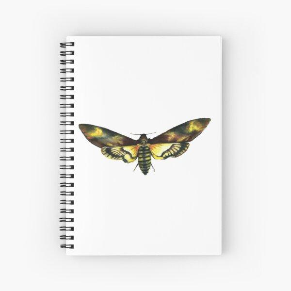 Deaths-Head Hawk Moth Spiral Notebook