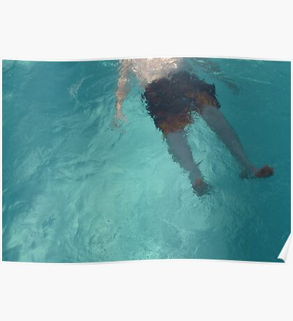 Pool Feet Poster
