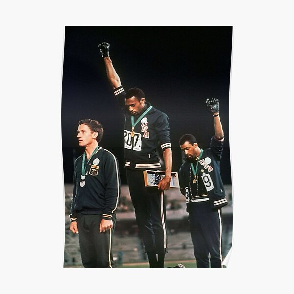 Olympics Salute 1968 Poster