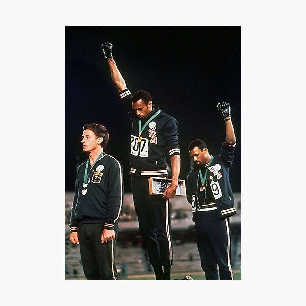 Olympics Salute 1968 Photographic Print