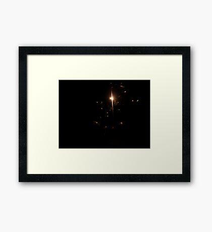 Sky Creatures Framed Print