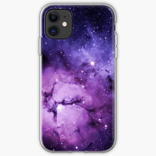 Purple Space - iPhone Case iPhone Soft Case
