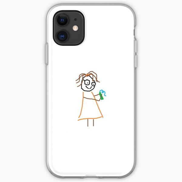 Jenny Quips:  Toothpaste! iPhone Soft Case