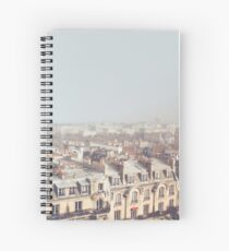 Paris Morning Rooftops Spiral Notebook
