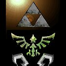 Skyward Sword iPhone Shield- Hero Link's theme by Midna