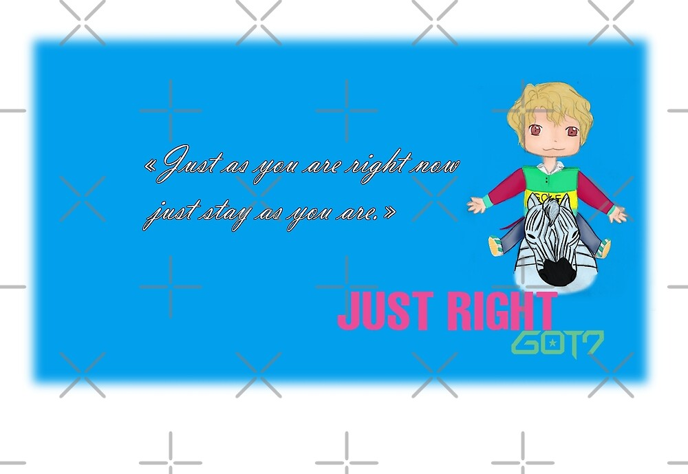 GOT7 ~ Just right ~ Yugyeom (1a) by liajung