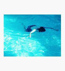 Faux Drown Photographic Print