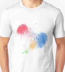 The Graph Of A Social Network Unisex T-Shirt
