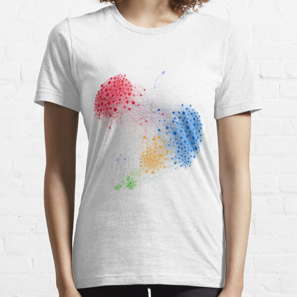 The Graph Of A Social Network Essential T-Shirt