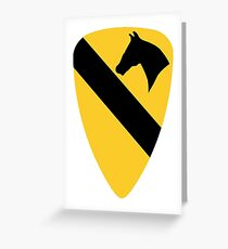 1st Cavalry Division Greeting Card