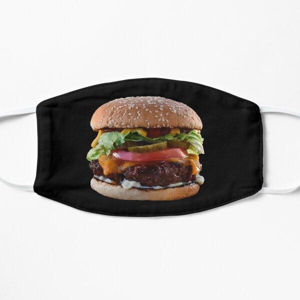 Burger Flat Mask