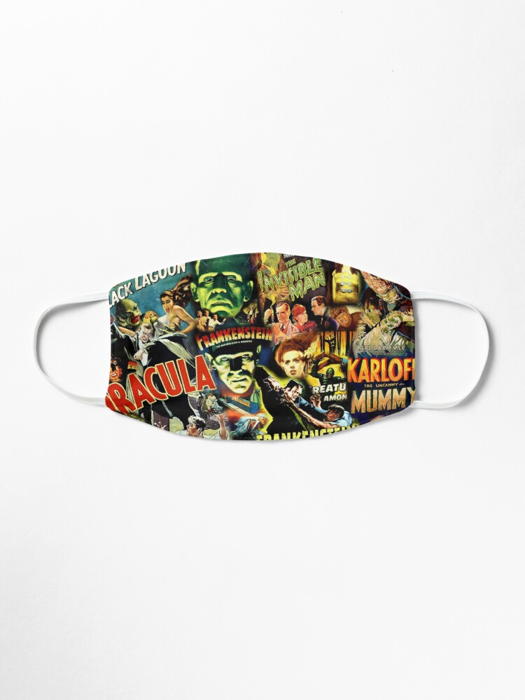Alternate view of Monster Movies Mask
