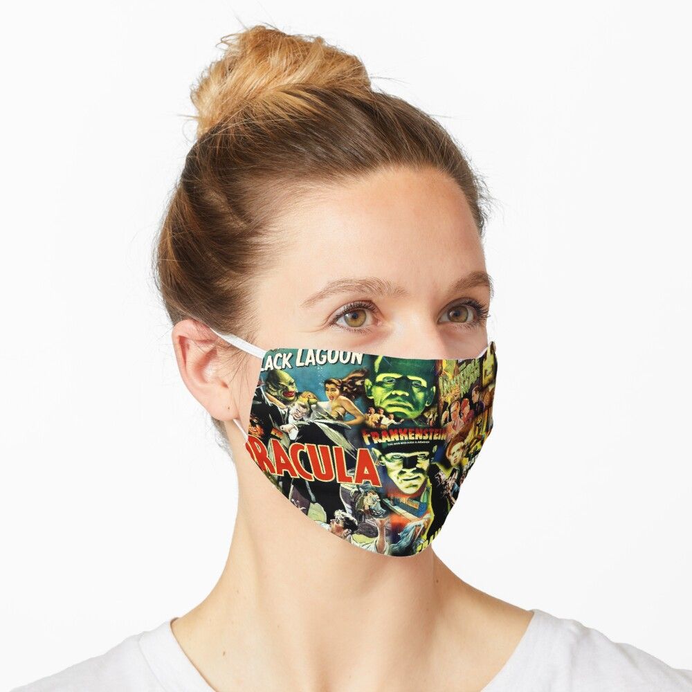 Monster Movies Mask
