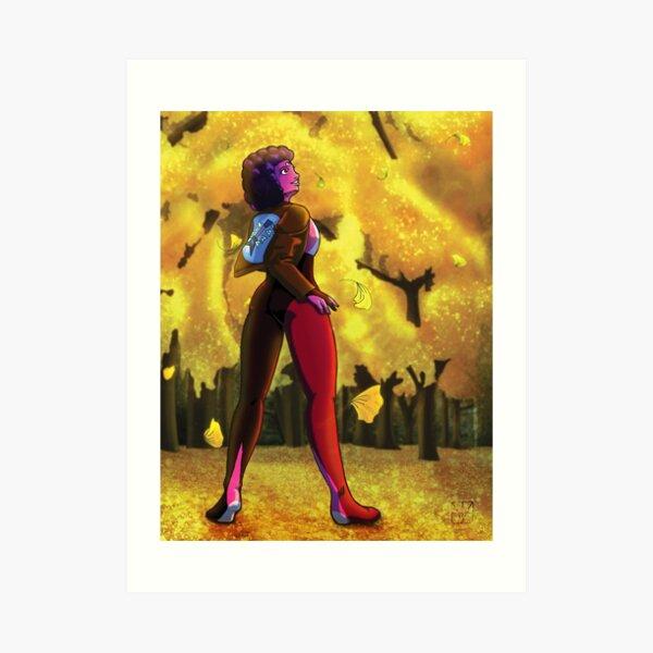 Ginko Garnet Art Print