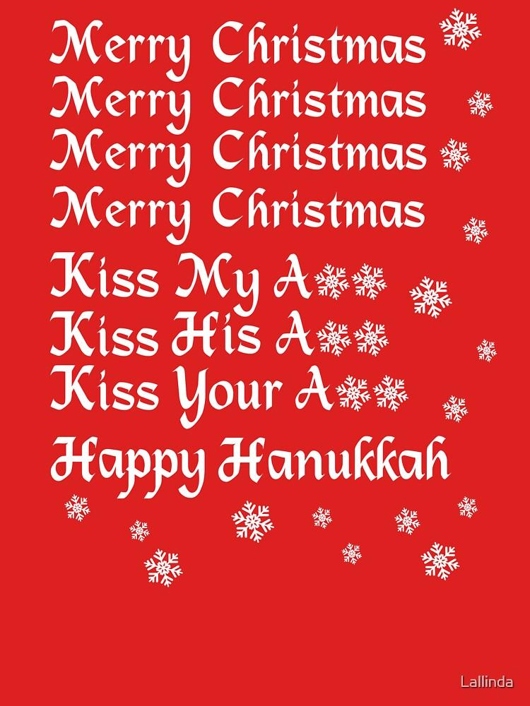 Merry Christmas Kiss My Ass Kiss His Ass Kiss Your Ass Happy ...