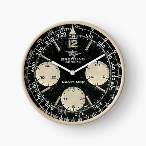 navitimer watch dial Clock