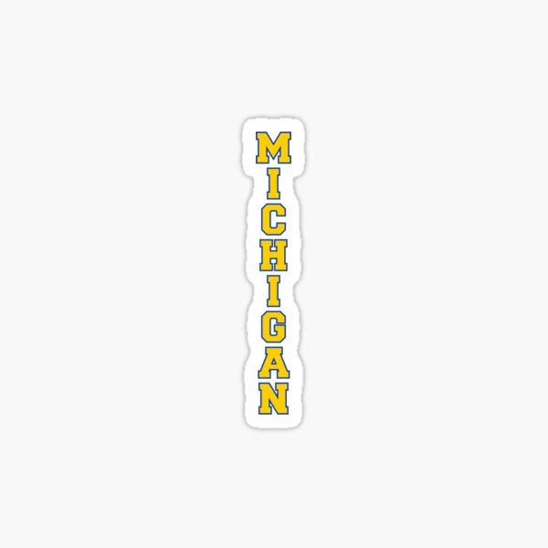 UMich Michigan Varsity Vertical Sticker