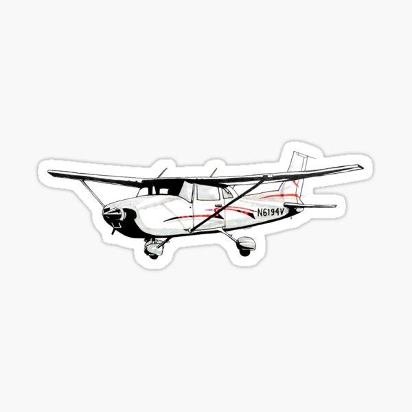 Cessna 172 Pegatina