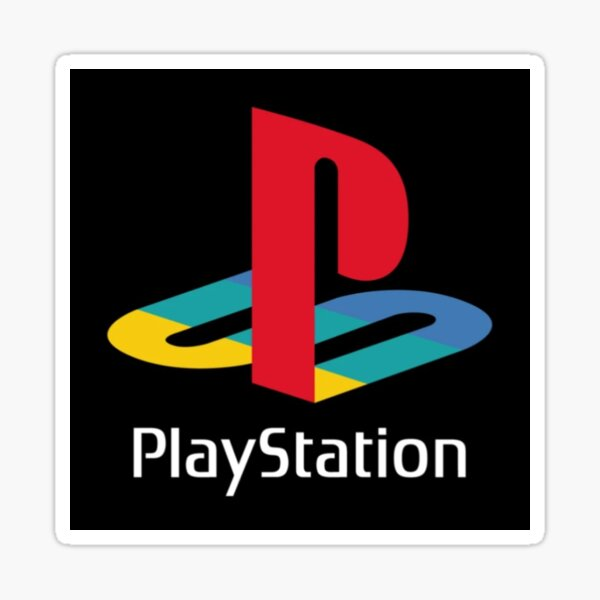 Playstation Sticker