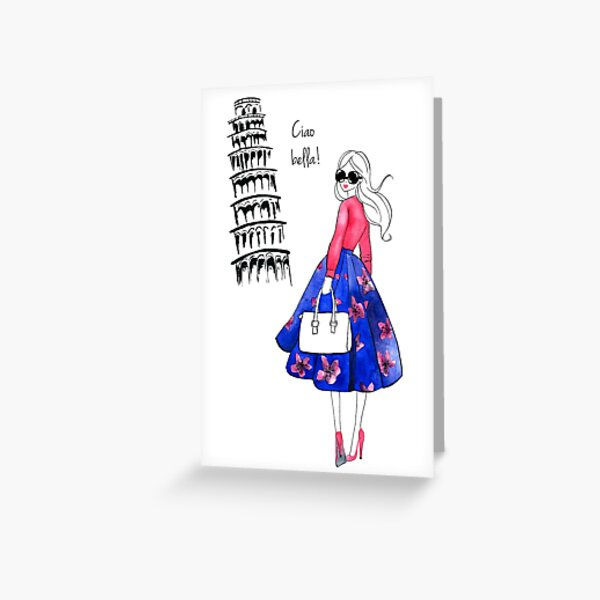 La Dolce Vita - Pisa Greeting Card