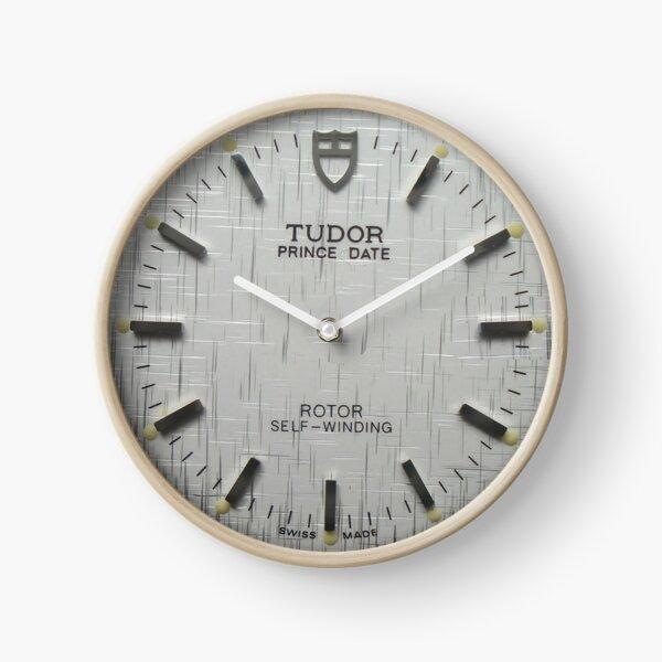 Sculpture Cadran argenté avec fenêtre marquée Horloge
