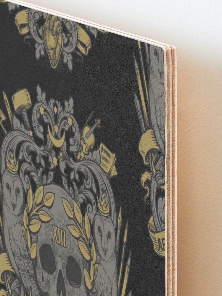 Alternate view of ARS LONGA, VITA BREVIS Mounted Print