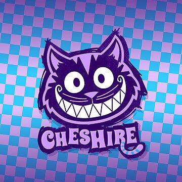 Cheshire Originals - Checkered Wildberry by CheshireGoMad