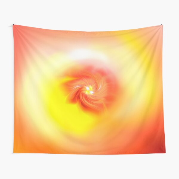 Orange Bliss Tapestry