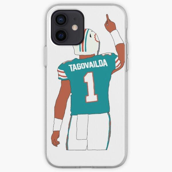 Miami Dolphins Tua Tagovailoa iPhone Soft Case