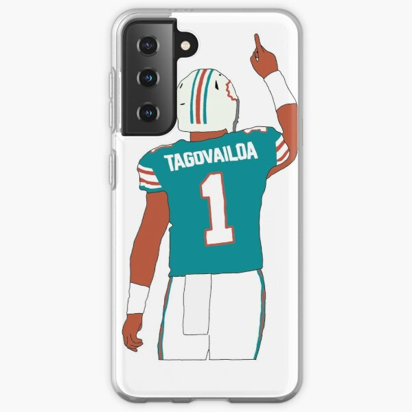 Miami Dolphins Tua Tagovailoa Samsung Galaxy Soft Case