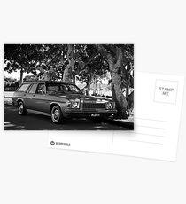 Craig's cool HQ V8 Postcards